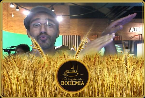 Cartão Bohemia de trigo
