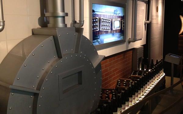 Engarrafamento da cerveja Bohemia