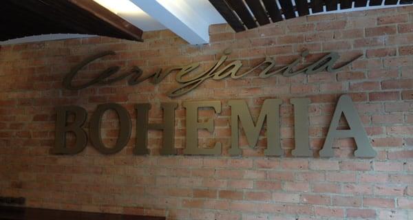 Entrada cervejaria Bohemia