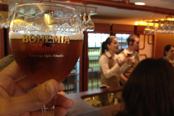 Ritual de degustação na Bohemia