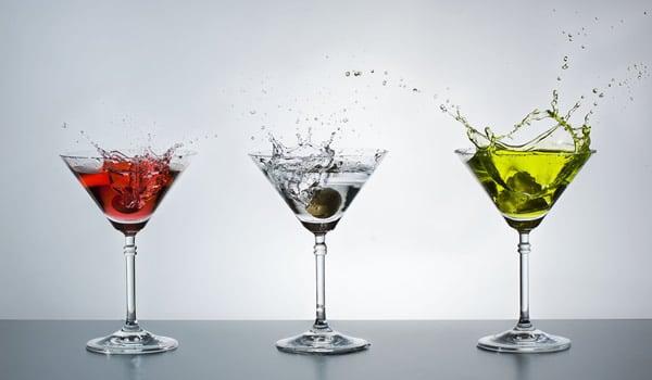 Taças de Martini