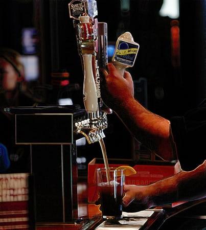 Choppeiras de um bar