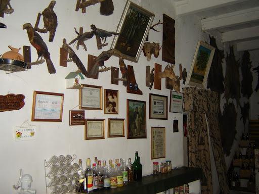 Casa com decoração cervejeira