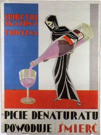 A morte segurando uma garrafa de vinho