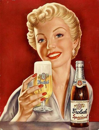 Old Beer Poster
