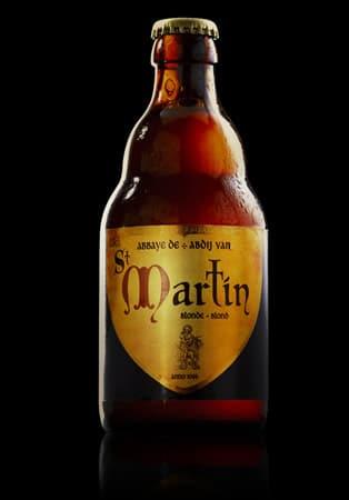 Garrafa da cerveja Saint Martin Blond