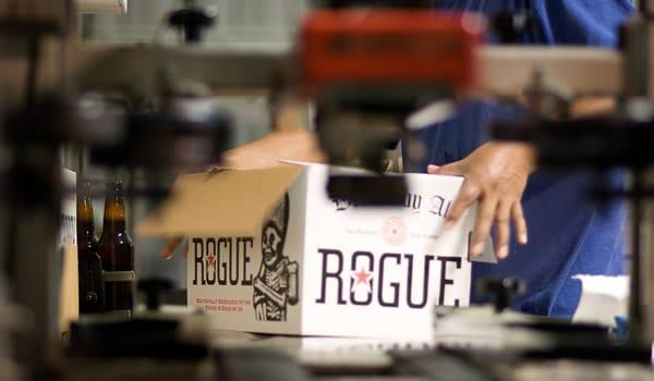 Caixa da cerveja Rogue