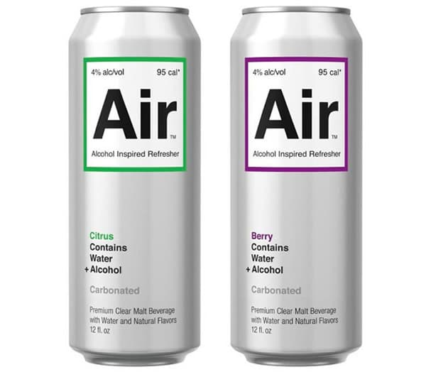 Latas do Drink Air