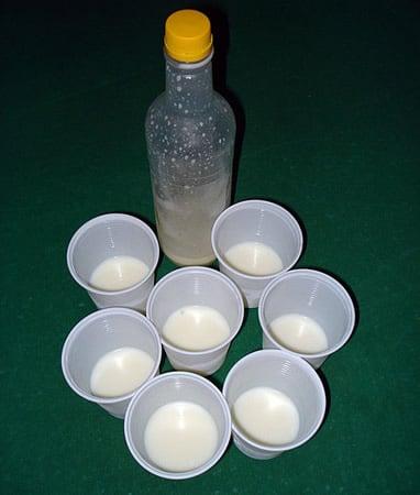 Drink Leite de onça