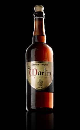 Garrafa grande da cerveja Saint Martin Blond