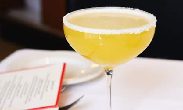 Taça do drink Margarita