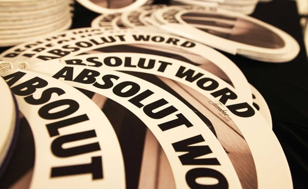 Capas da Absolut Word Timbre