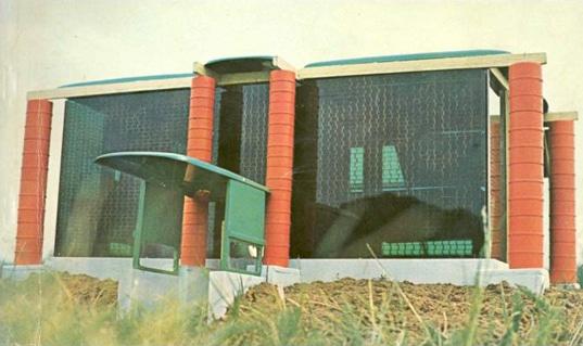Construção feita com a Heineken Wobo