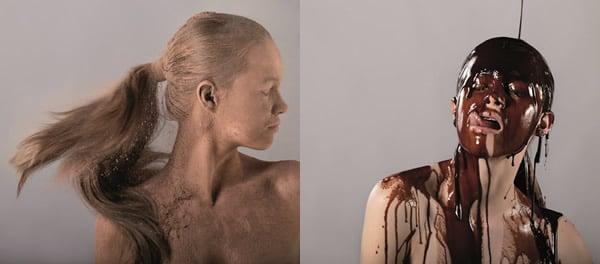 Splash com chocolate da Absolut Word Sabor Meio Amargo