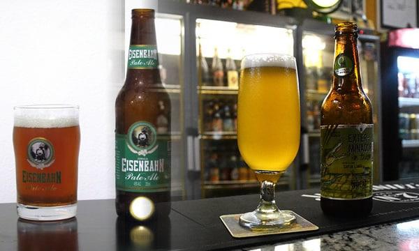 Cerveja Exterminador de Trigo e Eisenbahn Pale Ale