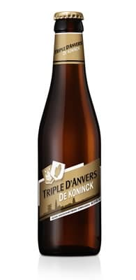 Garrafa da cerveja de Koninck Triple