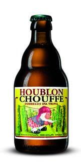 Garrafa da cerveja de Houblon Chouffe