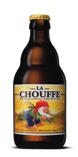 Garrafa da cerveja de La Chouffe