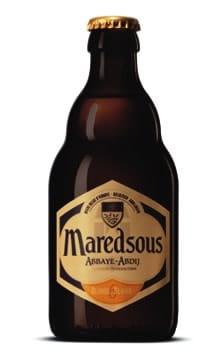 Garrafa da cerveja de Maredsous Blonde