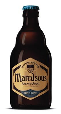 Garrafa da cerveja de Maredsous Triple