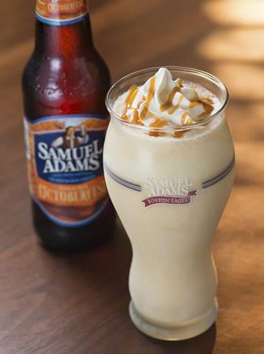 Milkshake de cerveja