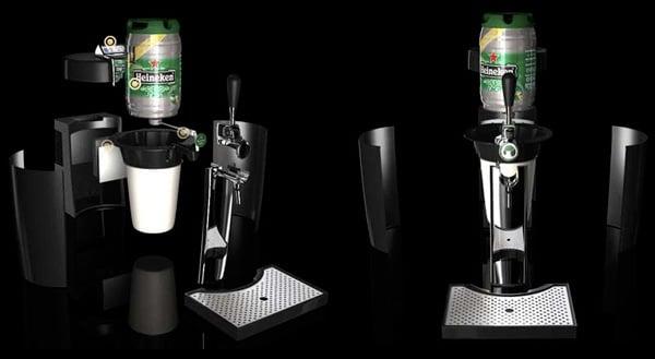 """Chopeira """"Beertender"""" da Heineken"""