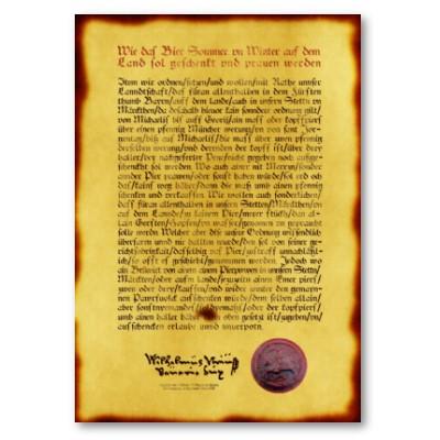 Carta da Reinheitsgebot