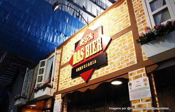 Stand da cervejaria Das Bier