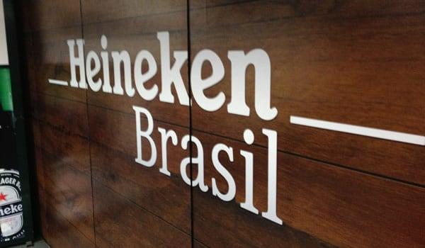 Entrada da cervejaria Heineken