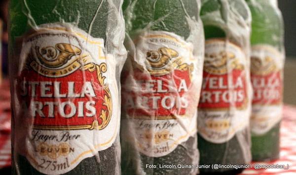 Gelando cerveja rapidamente