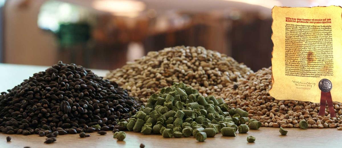 Ingredientes da cerveja segundo a Reinheitsgebot
