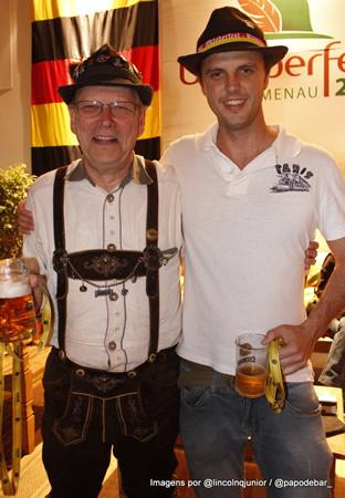 Mestre cervejeiro da cervejaria Eisenbahn