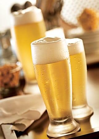 Tulipas com cerveja