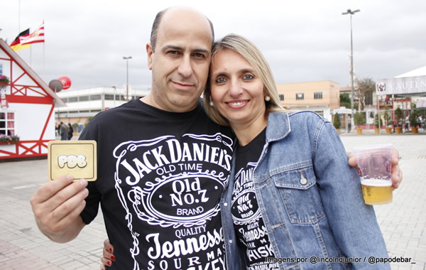 Casal Jack Daniel's