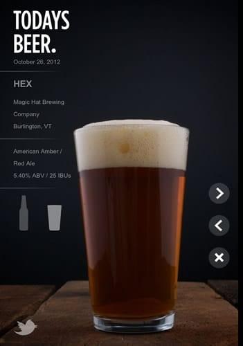 Copo da cerveja Hex