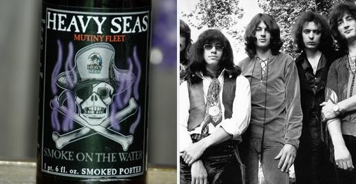 Cerveja da banda Deep Purple