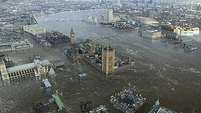 Londres inundada por cerveja