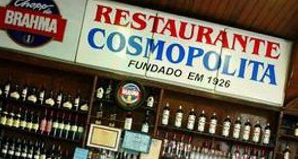 Entrada do restaurante Cosmopolita