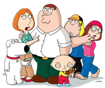 Galera do Family Guy reunida