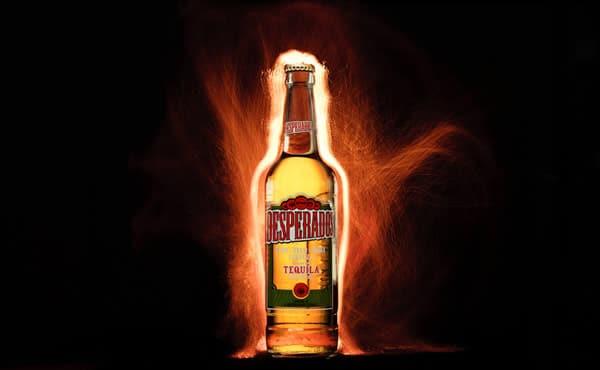 Garrafa da cerveja Desperados