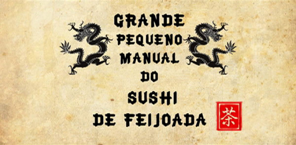 Manual de sushi de feijoada