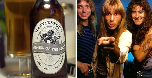 Cerveja da banda Iron Maiden