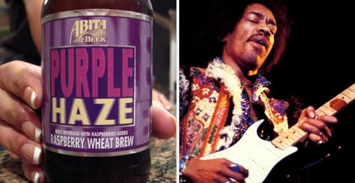 Cerveja da banda Jimi Hendrix