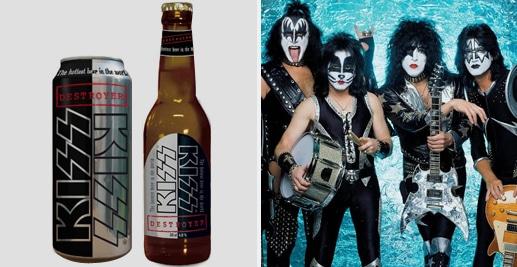 Cerveja da banda Kiss