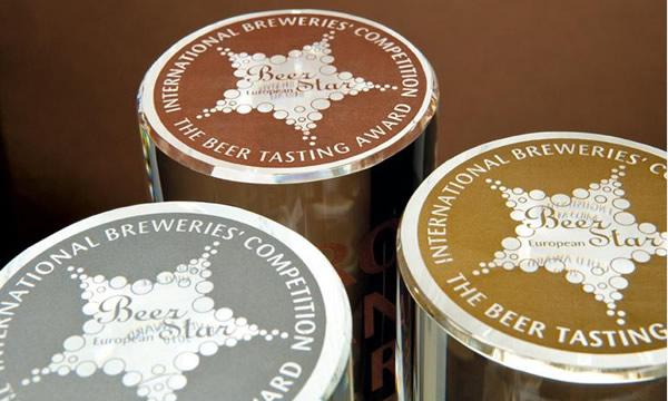 Medalhas do evento European Beer Star