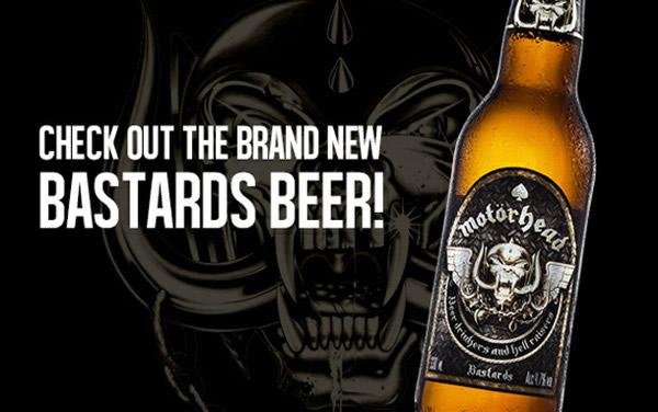 Cerveja da banda Motorhead