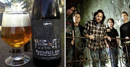 Cerveja da banda Pearl Jam