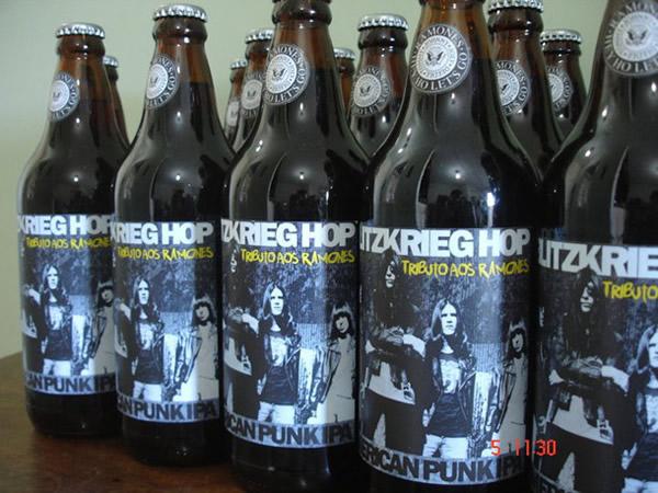 Cerveja da banda Ramones