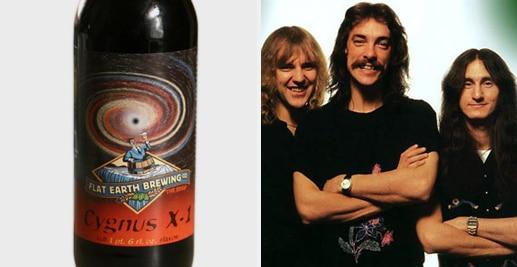 Cerveja da banda Rush