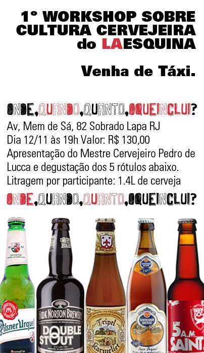 Workshop cervejeiro